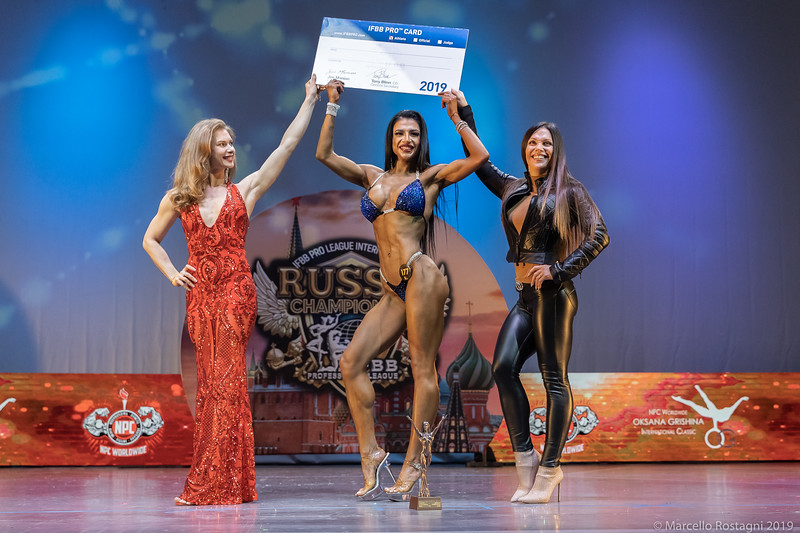 1st Place Overall 177 Анна Гребенченко