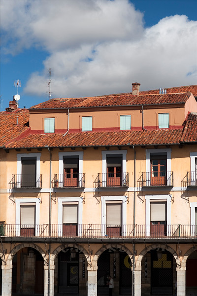 Town of Leon, autonomous community of Castilla y Leon, northern Spain