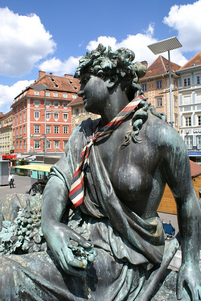 Graz. I can't believe someone got rid of that tie.