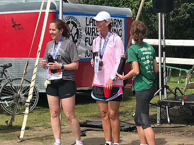 Ocracoke half and 10 k 5-2018