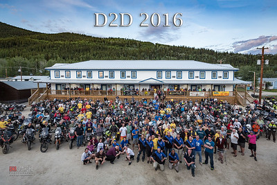 2016 Dust to Dawson Official Group Photos