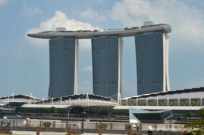 Marina Bay Sands Hotel - February 2014