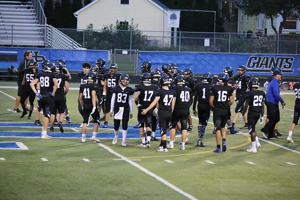 20210924 HPHS Varsity Football - Giants vs. Vikings