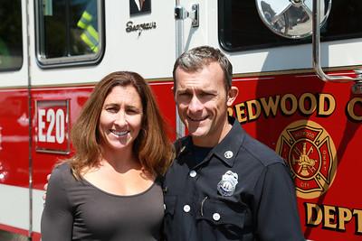 Redwood City Badge Pinning July 30 2013