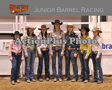 Junior Barrel Racing