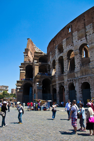 Exterior of the Colosseum, Rome