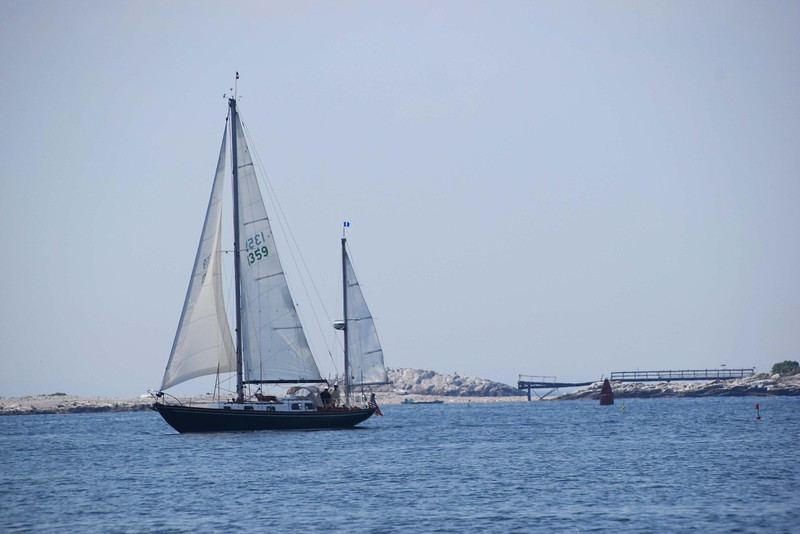 large sailing boat on the water