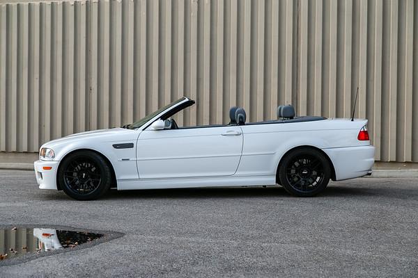 '06 M3 Cabriolet - Alpine White