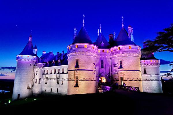 Chateau de Chaumont-sur-Loire - Nocturne