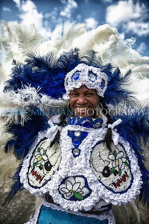 New Orleans Mardi Gras Indian Rhythm Section (Fri 5/4/12)