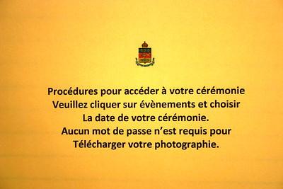 Procédures d'accès photographies