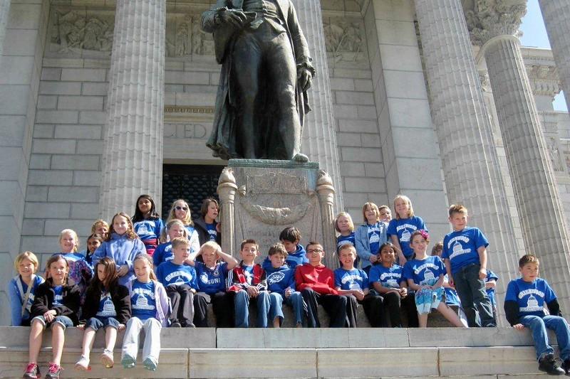4th grade trip to Jeff City