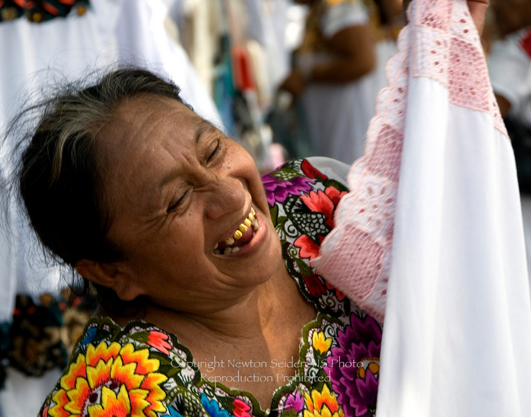 At the Market Vallaladolid, Mexico