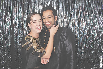 12-15-18 Atlanta Floyd Building Photo Booth - Ronny and Becky's Anniversary - Robot Booth