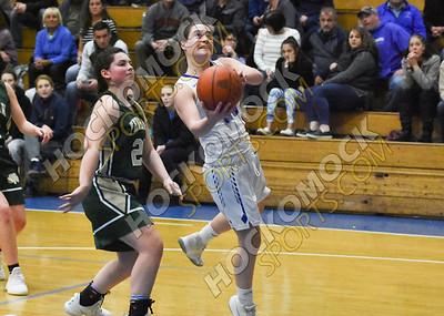 Attleboro - Bishop Feehan Girls Basketball 2-17-19