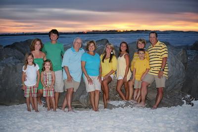 Horne and Bennett Family