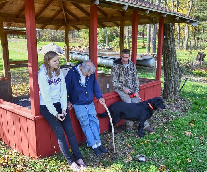 Annie, Larry Lebin, Cory. Oct 16 2011