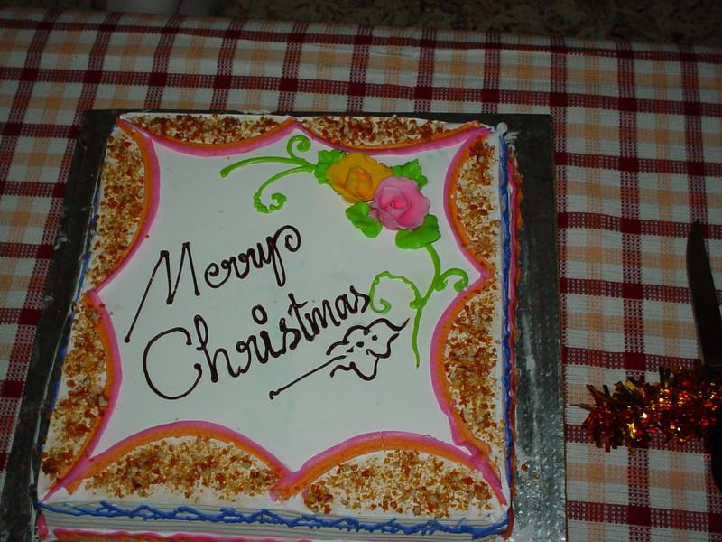 A Christmas...cake?