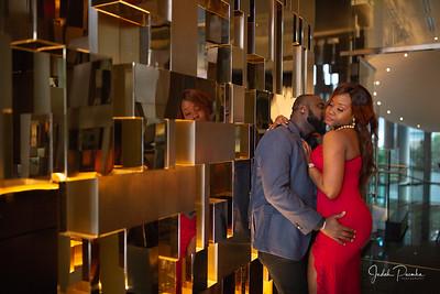 Ify & Raheem - Best Nigerian Engagement Shoot | Trump Towers - Capilano Bridge Vancouver BC