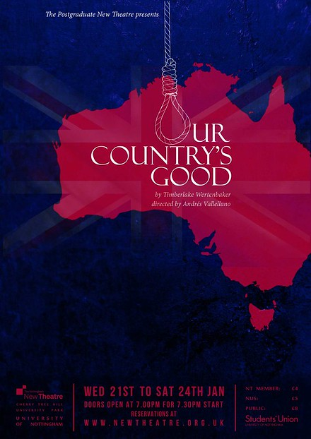 Postgraduate NT Present: Our Country's Good poster