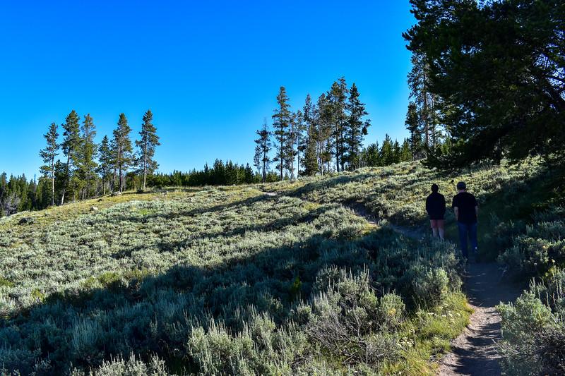 Bunsen Peak Trail -- 7,260'