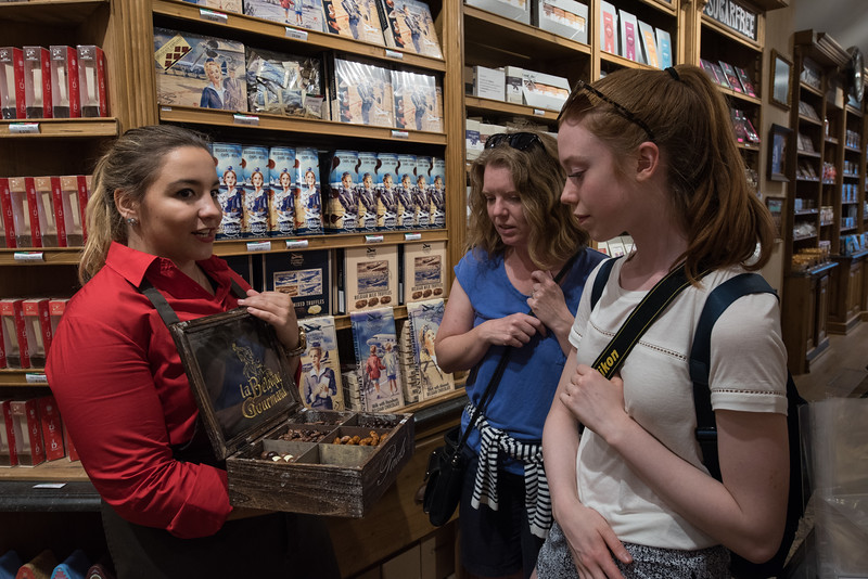 Day 3 - da chocolate treasure chest in Brugge, July 6th
