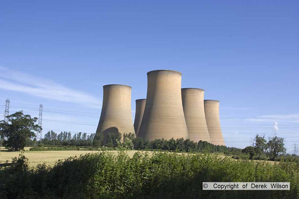 2012, Sunday 15th July, Demolition of High Marnham cooling towers