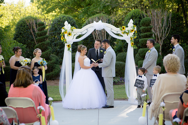 Jessica and Chris - Garden Wedding