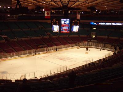 Ice Hockey @ MSG