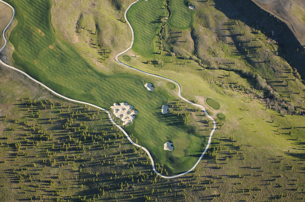 Golf Course Aerial Images