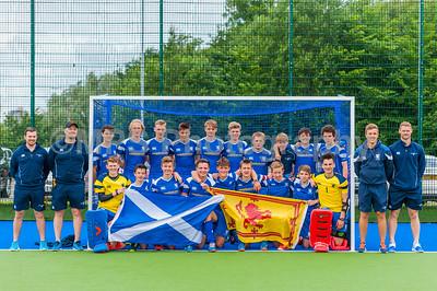 Scotland U16 V Ulster U16