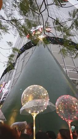 20201204 台新聖誕點燈