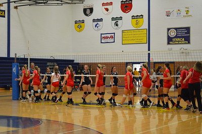 Varsity Volleyball at Ithaca
