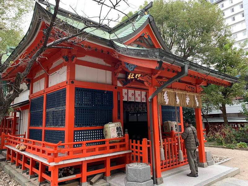 A Shrine in Tenjin Fukuoka