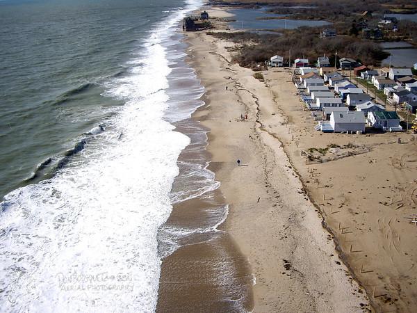 Roy Carpenter's Beach and Moonstone Beach After Hurricane Sandy