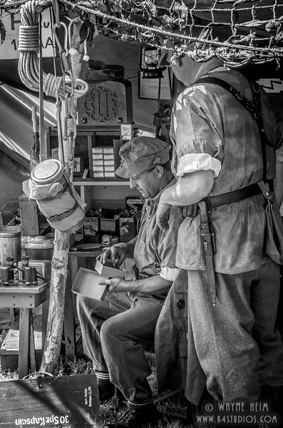 Checking Ammo  Photography by Wayne Heim