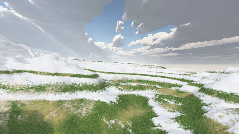 Ice Mountain 13 : A Computer Generated Image from Daily Animation