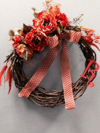 2014 08-11 Wreath I made for Samara