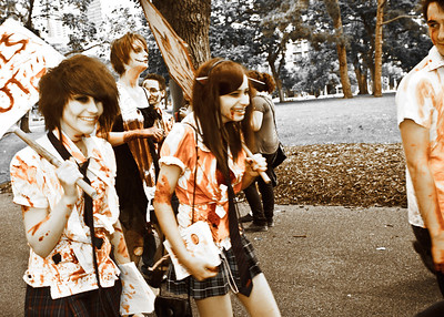 Melbourne Zombie Shuffle 2011