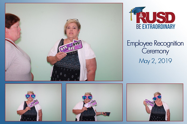 2019 RUSD Employee Recognition - 5/2/2019