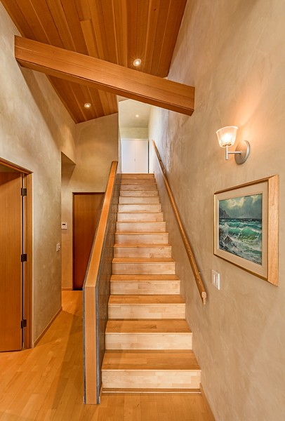 Stairs to Office Loft