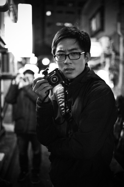 Eric with his new (my old) Leica M6