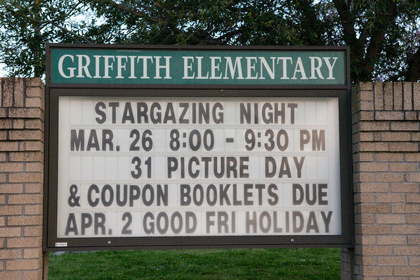 Madge Griffith Star Party-3/26/10