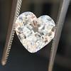 3.47ct Antique Heart Shaped Diamond GIA F SI2 21