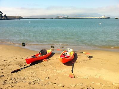 SF Bay Kayaking: Oct 12, 2013