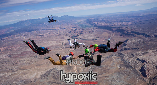 2019 - Skydive MOAB - Mother of all Boogies