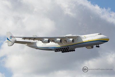 Antonov An-225 Mriya visits Perth & Australia for the first time