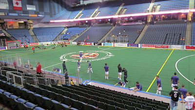 Ontario Fury First Game - 11/10/2013