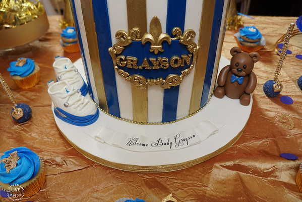 GRAYSON BABY SHOWER