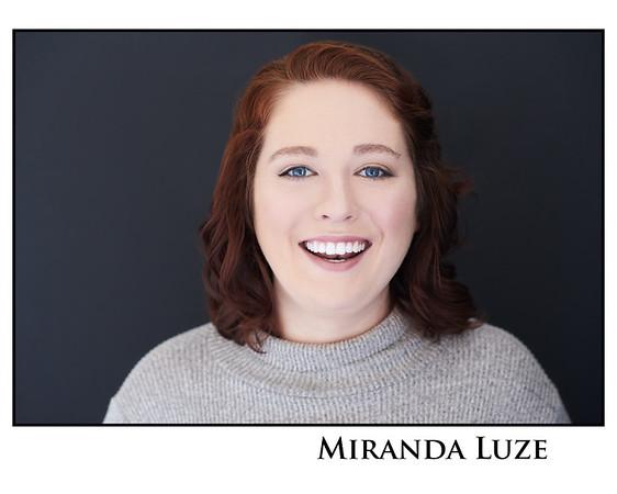 Miranda Luze - Retouched Headshots